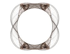 Free Oval Frame Pattern Royalty Free Stock Images - 1907579