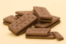 Free Bourbon Biscuits Royalty Free Stock Image - 1908126