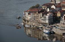 View Of Oporto Ribeira Royalty Free Stock Photos
