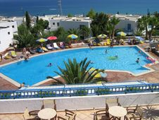 Free Dream Resort Crete Royalty Free Stock Images - 1909099