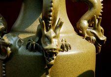 Free Chinese Porcelain Dragon Stock Photo - 1909670