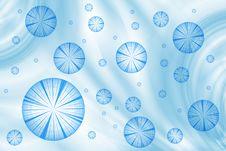 Falling Snowflakes Stock Photo