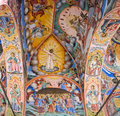 Free Ceiling Of Rila Monastery In Bulgaria Royalty Free Stock Image - 19001436