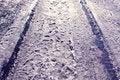Free Winter Road Stock Photos - 19006603