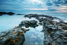 Free Beautiful Seascape. Royalty Free Stock Photo - 19004515