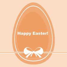 Free Cute Easter Card Royalty Free Stock Photography - 19004927