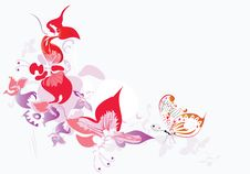 Free Floral Background Royalty Free Stock Image - 19005036
