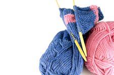 Free Knitting Royalty Free Stock Photo - 19005385