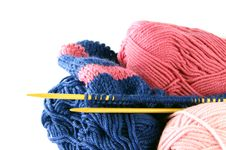 Free Knitting Royalty Free Stock Photography - 19005397