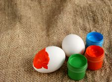 Free Easter Eggs Royalty Free Stock Image - 19005506