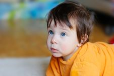 Free Cute Baby Stock Photography - 19005512