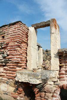 Roman Ruins - Door 2 Stock Images