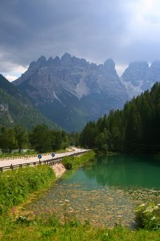 Free Italy Mountains, Cortina D Ampezzo (Alps) Royalty Free Stock Images - 19005969