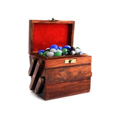 Free Box With Stones Royalty Free Stock Photos - 19006008