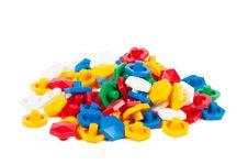 Plastic Blocks Royalty Free Stock Photo