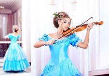 Free Violin Player Stock Photos - 19006533