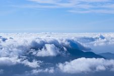 Free Clouds Over The Mountains. Stock Images - 19006584