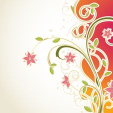 Free Abstract Floral Background Stock Photos - 19006773