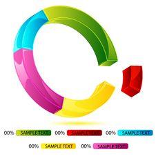 Free Doughnut Chart Stock Image - 19006821