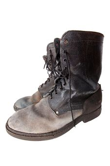 Free Old Good Boots Stock Image - 19006851
