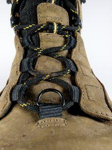 Walking Boot Stock Photo