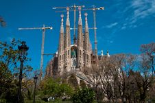 Free Sagrada Familia, Barcelona Royalty Free Stock Image - 19008426