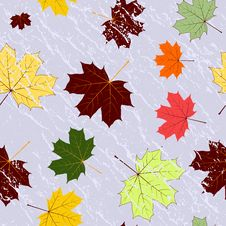 Free Autumn Seamless Grunge Pattern Royalty Free Stock Photography - 19008687