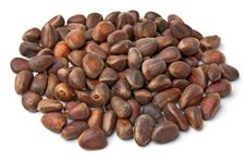 Free Handful Of Nuts Of Siberian Cedar Royalty Free Stock Photography - 19008757
