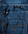 Free Headset In Back Pocket Royalty Free Stock Photo - 19014465