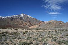 El Teide And The Llano De Uncanca Royalty Free Stock Photography