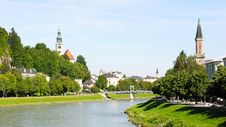 Free Salzach River Royalty Free Stock Images - 19010829