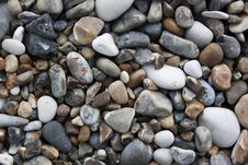 Free Small Pebbles Background Royalty Free Stock Photo - 19010905