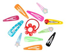 Free Colored Hairpins Stock Photography - 19010972