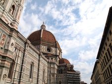 Free Dome Of The Florence Duomo , Italy Royalty Free Stock Images - 19011069