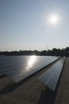 Free Renewable Energy, Solar Panels Stock Images - 19011534
