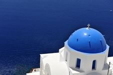 Free Church Bells On Santorini Island Royalty Free Stock Photos - 19012758