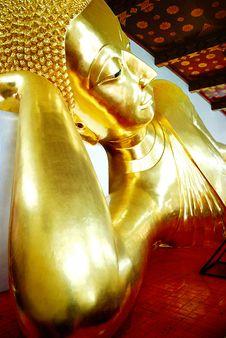 Free Sleeping Buddha Stock Images - 19012824