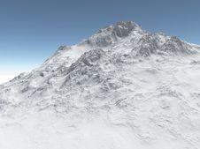 Free Mountain With Snow Stock Photos - 19013323