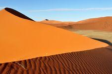 Free Dune In Namib Desert In Namibia,Africa Stock Images - 19013364