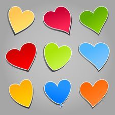 Love Icon Royalty Free Stock Photography