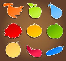 Free Meal Icons3 Stock Images - 19013794