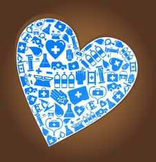 Free Medical Heart Stock Photos - 19013803