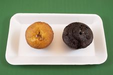 Free Muffins Royalty Free Stock Photography - 19015037