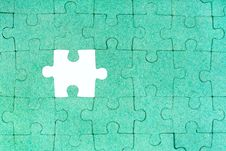 Free Green Puzzle Stock Photography - 19015452