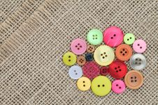 Free Colorful Buttons Royalty Free Stock Image - 19015926