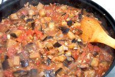 Free Eggplant Cacciatore Stock Photo - 19016110