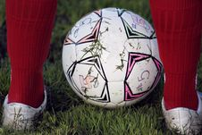 Free Foot Ball Royalty Free Stock Photo - 19016125