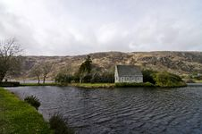 Free Church Of Gougane Barra Ireland Royalty Free Stock Photo - 19016425