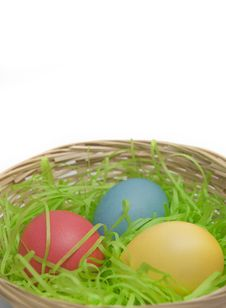 Free Easter Eggs Royalty Free Stock Photos - 19016658