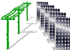 Free Solar Panels Royalty Free Stock Images - 19017489